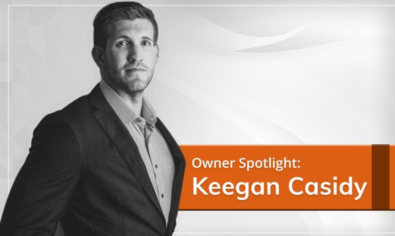 Owner Spotlight: Keegan Casidy